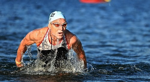 Locals among top finishers in 34th annual Apple Triathlon