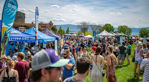 PHOTOS: Great Okanagan Beer Fest has Waterfront Park hopping