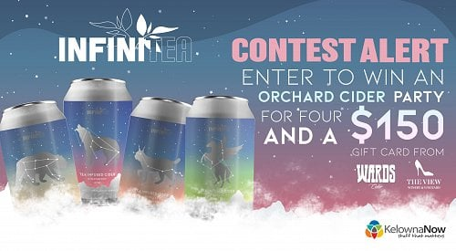 CONTEST CLOSED! Enter to win an orchard cider party for four and a $150 gift card!