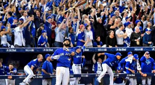 Jose Bautista re-signs with the Toronto Blue Jays