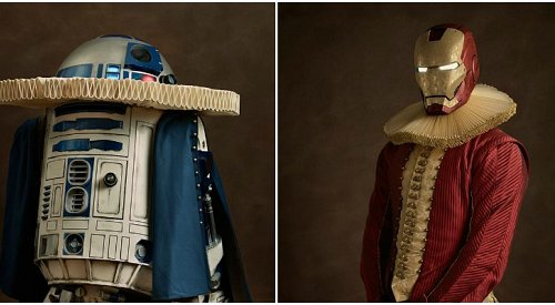 Photographer Makes Your Favourite Characters into 16th Century Paintings