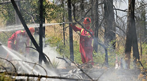 Wildfire Near Rock Creek Now 85 Per Cent Contained