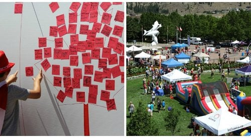 Kelowna's Downtown Jam-Packed With Canada Day Celebrations