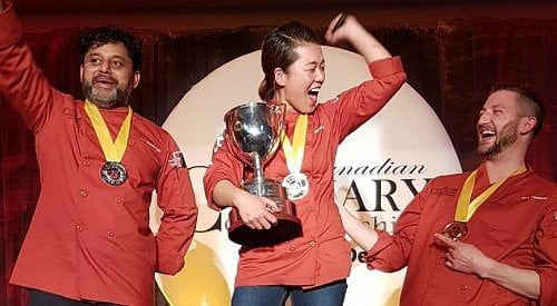 Calgary chef wins gold at Culinary Championships