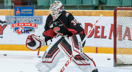 Cougars goaltender named on the Sherwin-Williams CHL / NHL Top Prospects Game roster