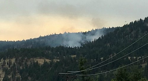 McCall Creek fire near Peachland 100% contained