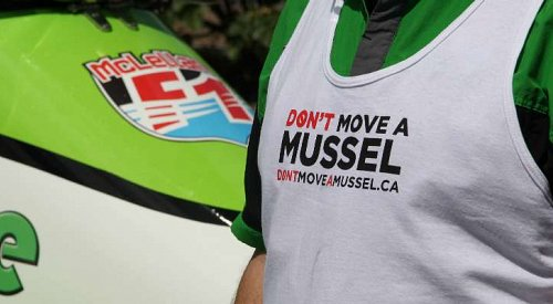 Formula 1 Racer Teams Up to Share Awareness About Invasive Mussels