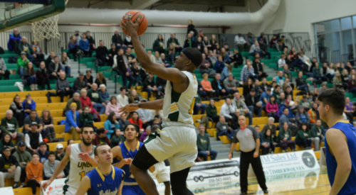 UNBC's Jovan Leamy named to Canada West Third All-Star Team