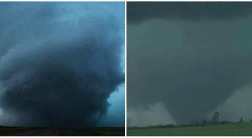 Massive Tornado Touches Down in Manitoba