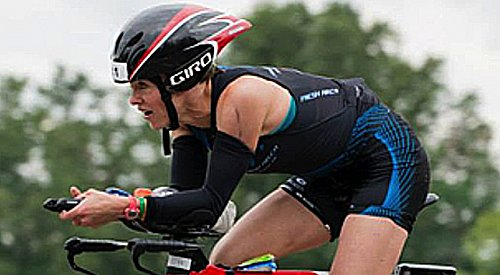 Kelowna's Elmore earns come-from-behind second in Augusta 70.3 Ironman