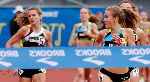 Taryn O'Neill wins over elite field of two-milers at Seattle meet