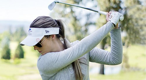 Kelowna's Megan Osland makes debut on LPGA Tour this week