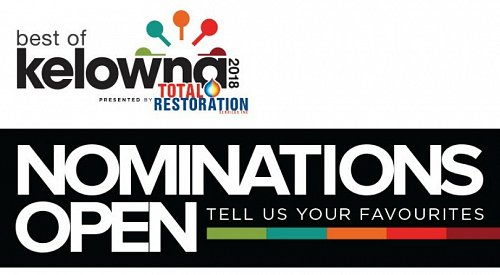 Last day of nominations for Best of Kelowna is this Friday!