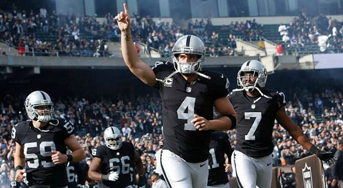 It's official, the Raiders are leaving Oakland