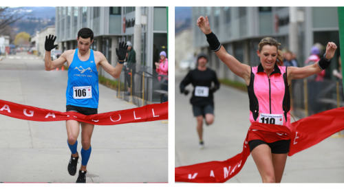Locals win 15th Annual Okanagan College Half Marathon