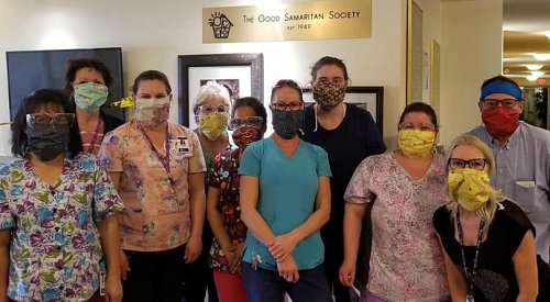 'Sewing the curve': Volunteer group making and donating masks to Okanagan essential workers