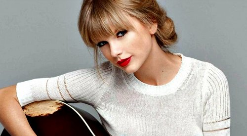 Taylor Swift Tops iTunes Canada Chart with 8 Seconds of White Noise