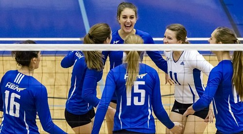 UBCO Heat Saturday roundup: Women's volleyball team continues strong play