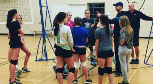 A new volleyball club has launched in West Kelowna