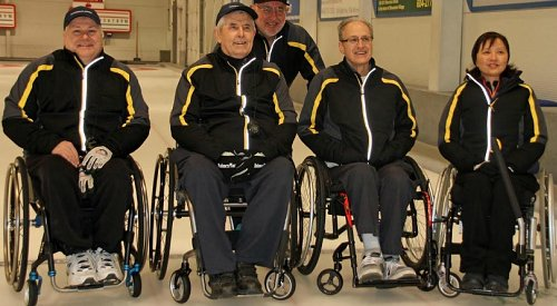 Kelowna man leads team to provincial wheelchair curling title
