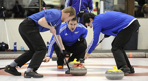 Predictable Outcomes For Host Teams At CIS Curling Championships In Kelowna