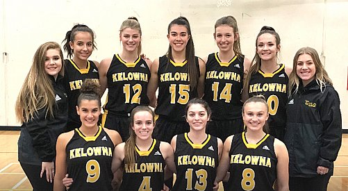 Kelowna Owls win first-ever provincial girls basketball championship