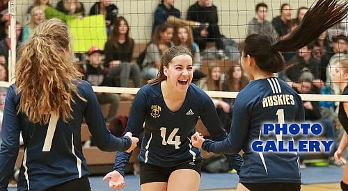 B.C. volleyball roundup: Owls in final, Immaculata/KCS girls in semi, OKM takes aim