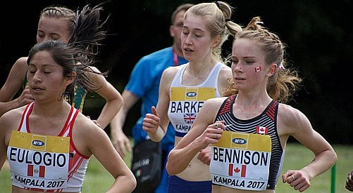 Vernon's Bennison top N. American at world x-country championships