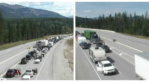 Accident closes Trans-Canada Highway in both directions