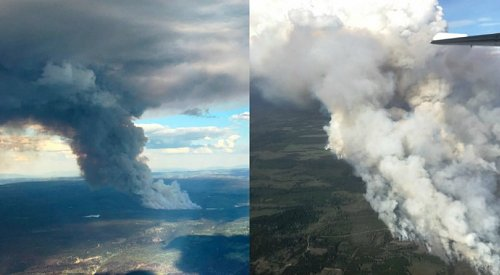 Allie Lake wildfire now posing an 'imminent threat' to people and property