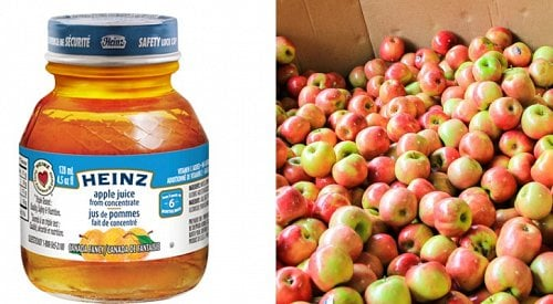 Moldy apple juice pulled from shelves