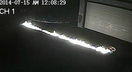 Surrey RCMP Release Video of Suspects Setting a House on Fire
