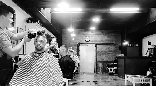 Barber shop's doors stay open thanks to community