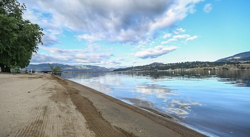 A warm and sunny Saturday is in store for Kelowna