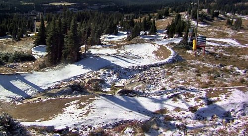 Big White and SilverStar get first snow of the season