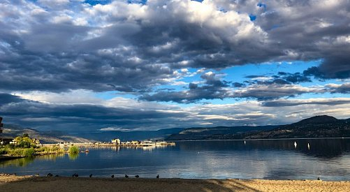 One more overcast day before Kelowna will see the sun