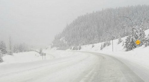 Up to 40 cm of snow expect for the Coquihalla this weekend
