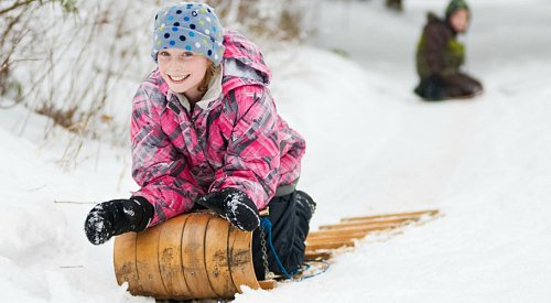 The best tobogganing hills in Kelowna