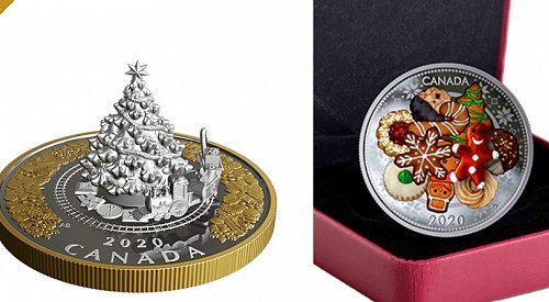 The Royal Canadian Mint releases its limited edition holiday coins