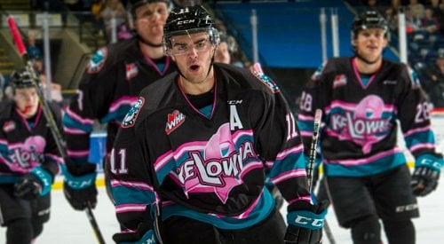 Kelowna Rockets forward Erik Gardiner suddenly retires