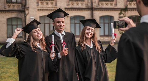 Okanagan College's 1st grad class of the new decade to walk across the stage today