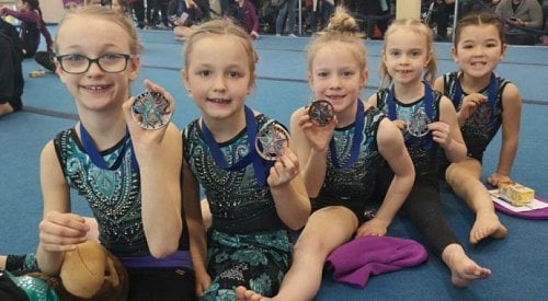 Lake Country Gymnastics athletes wow the crowd at recent competition