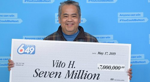 BC man has no plans to quit janitor job after $7M lottery win