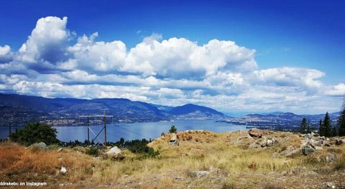 A special air quality statement remains in effect for the Okanagan