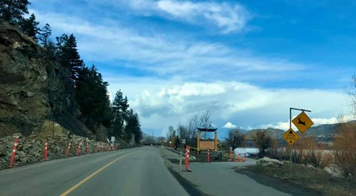 Motorists asked to not collect rock debris on Pelmewash Parkway