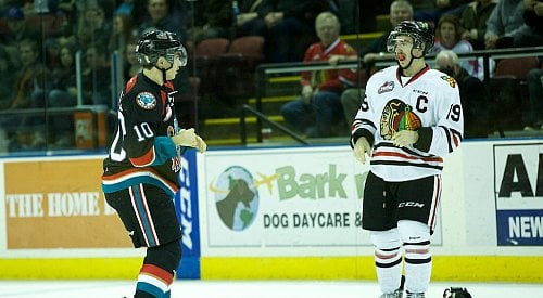 Much Better Effort By Rockets, But Results In Same Score Loss To Winterhawks In Game Two