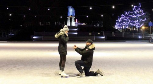 VIDEO: A picture perfect proposal