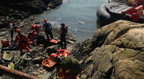 Rescuers Save Woman Who Fell off a Cliff in West Vancouver