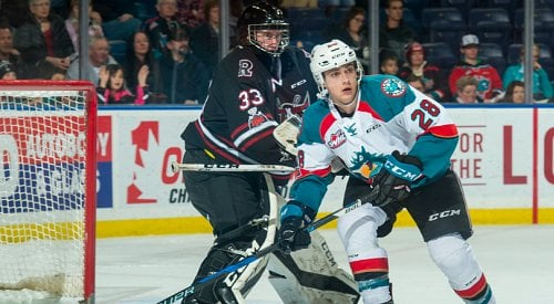 Rockets fall to Rebels on Friday night in Red Deer