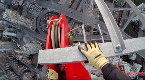 PHOTOS: Prolific 'rooftopper' draws mixed reviews in Vancouver